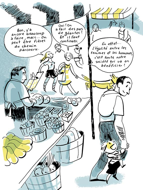 Bande dessinée Féminisme