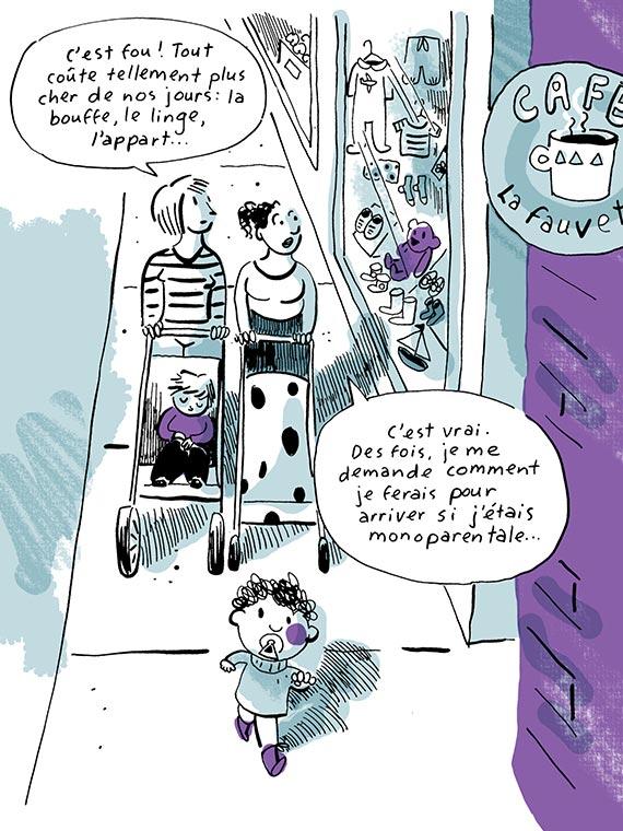 Bande dessinée Pauvreté