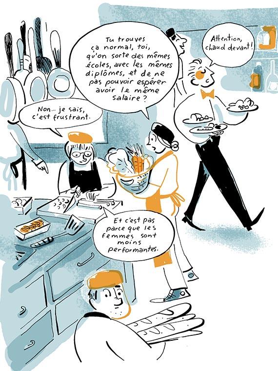 Bande dessinée scolaritté salaires