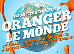 Logo de Journée orange.