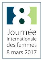 Logo de la journée du 8 mars 2017.