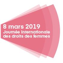 Logo de la journée du 8 mars 2018