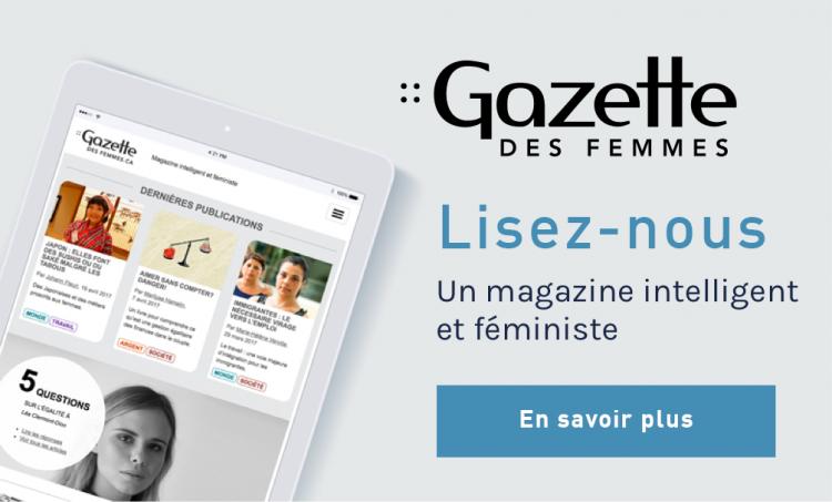 Illustration de la Gazette des femmes.