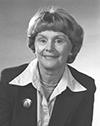 photographie de Claire Bonenfant présidente 1978 à 1984.