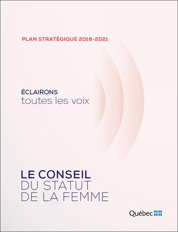 Plan stratégique 2018-2021.