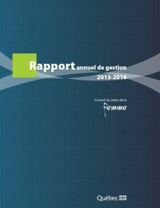 Illustration de la page couverture du rapport annuel.