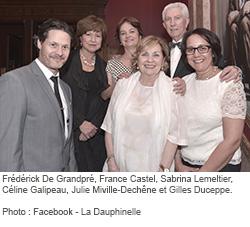 Photographie des personnalités invitées.