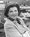 Photographie de Diane Lemieux présidente de 1995 à 1998.