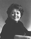 photographie de madame Francine C. McKenzie présidente 1984 à 1988.