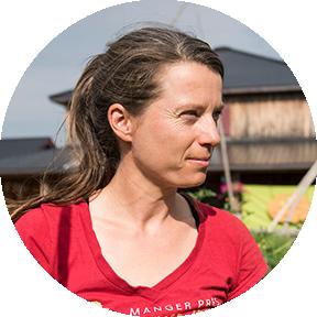 Véronique Bouchard, fermière pour la santé des familles