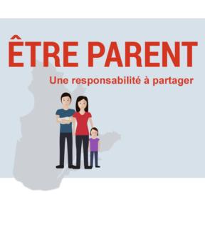 Illustration d'une famille.
