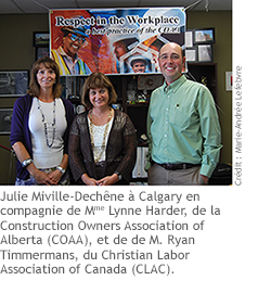 Événement publique «La présidente du Conseil en visite en Alberta»