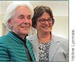 Photographie de Rose Dufour et Julie Miville-Dechênes.