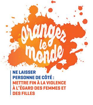 Logo Orangez le monde.
