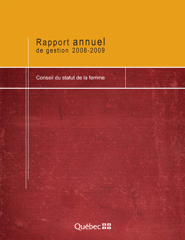 Illustration de la page couverture du rapport annuel.